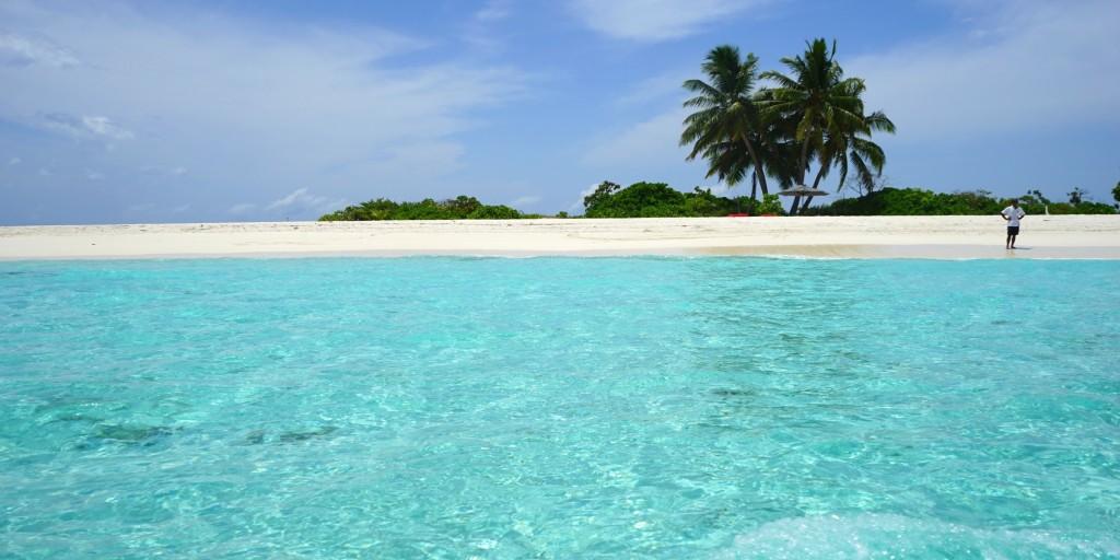 Blue Ocean at Maldives