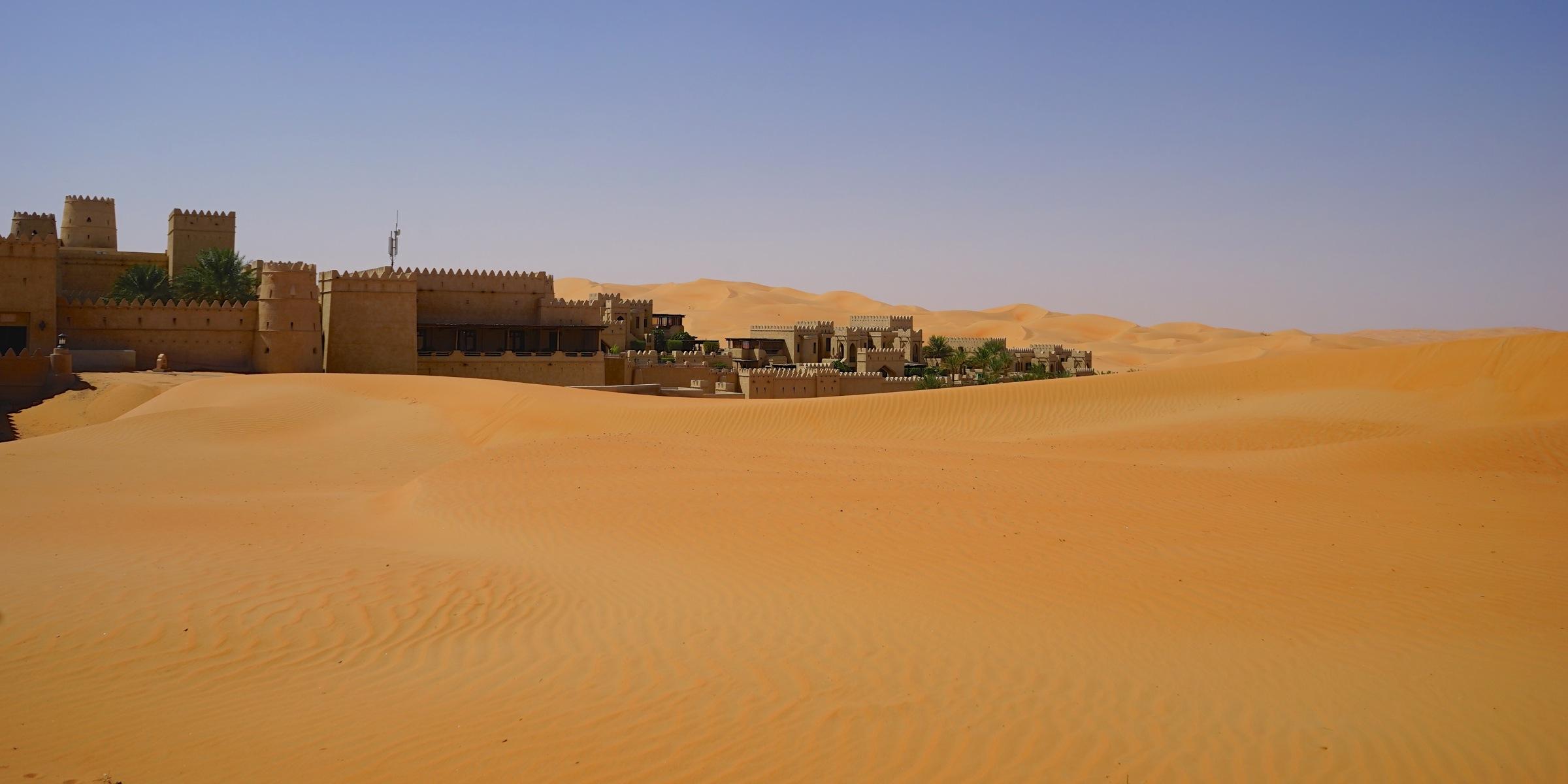 砂漠リゾートの個人手配について