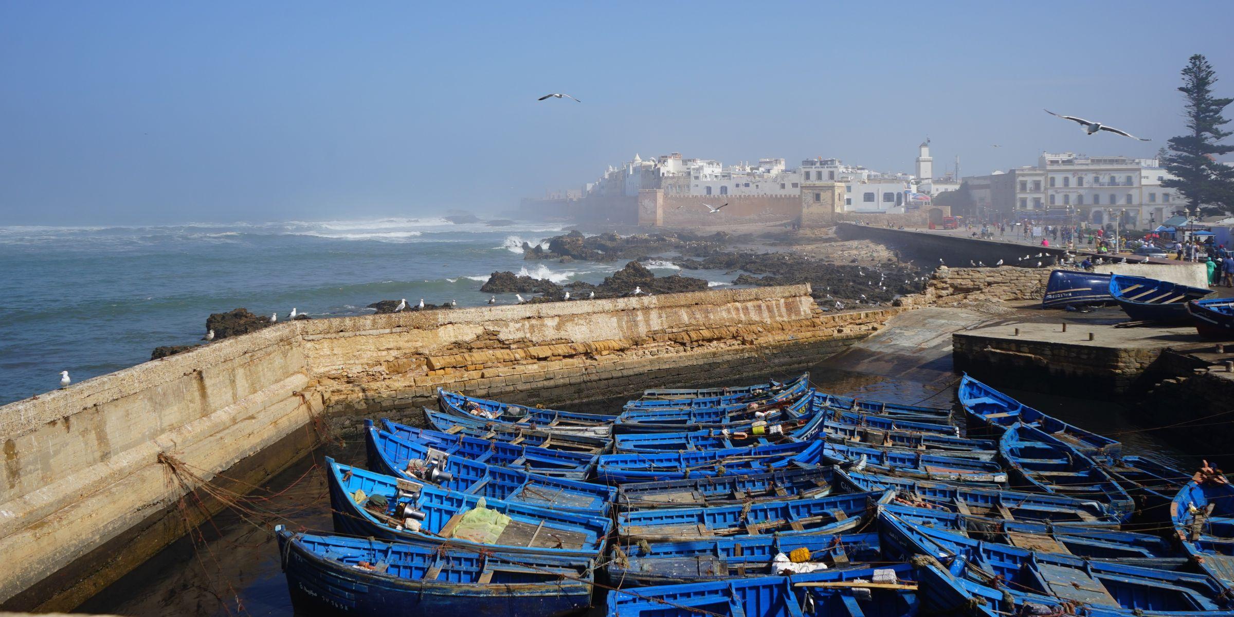 【モロッコ女子旅】芸術家の街Essaouiraエッサウィラ