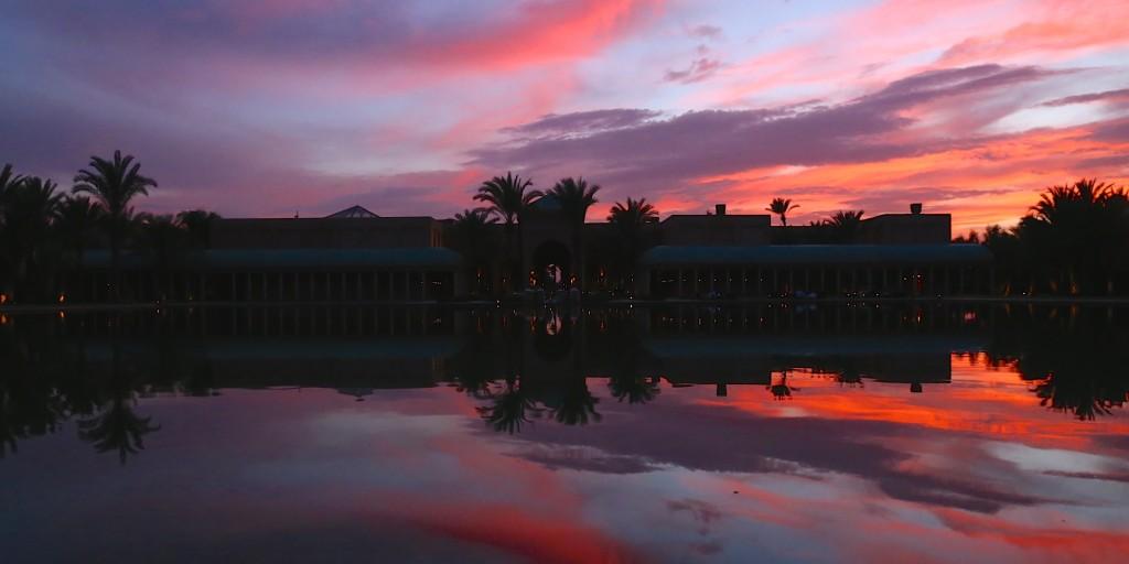 【モロッコ女子旅】アマンジェナでサンセット&ディナー
