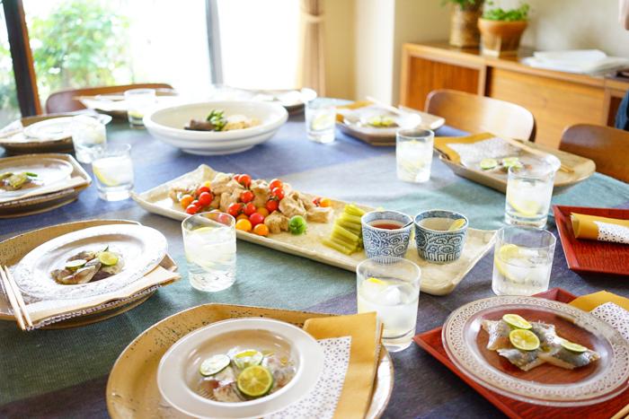 レッスンレポ:三枝先生の夏の料理教室