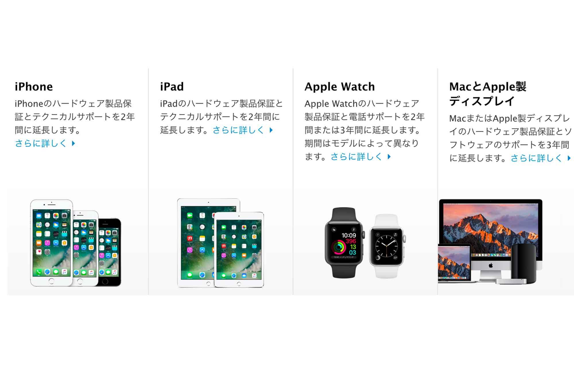 アップル製品購入時のAppleCareが絶対オススメの理由